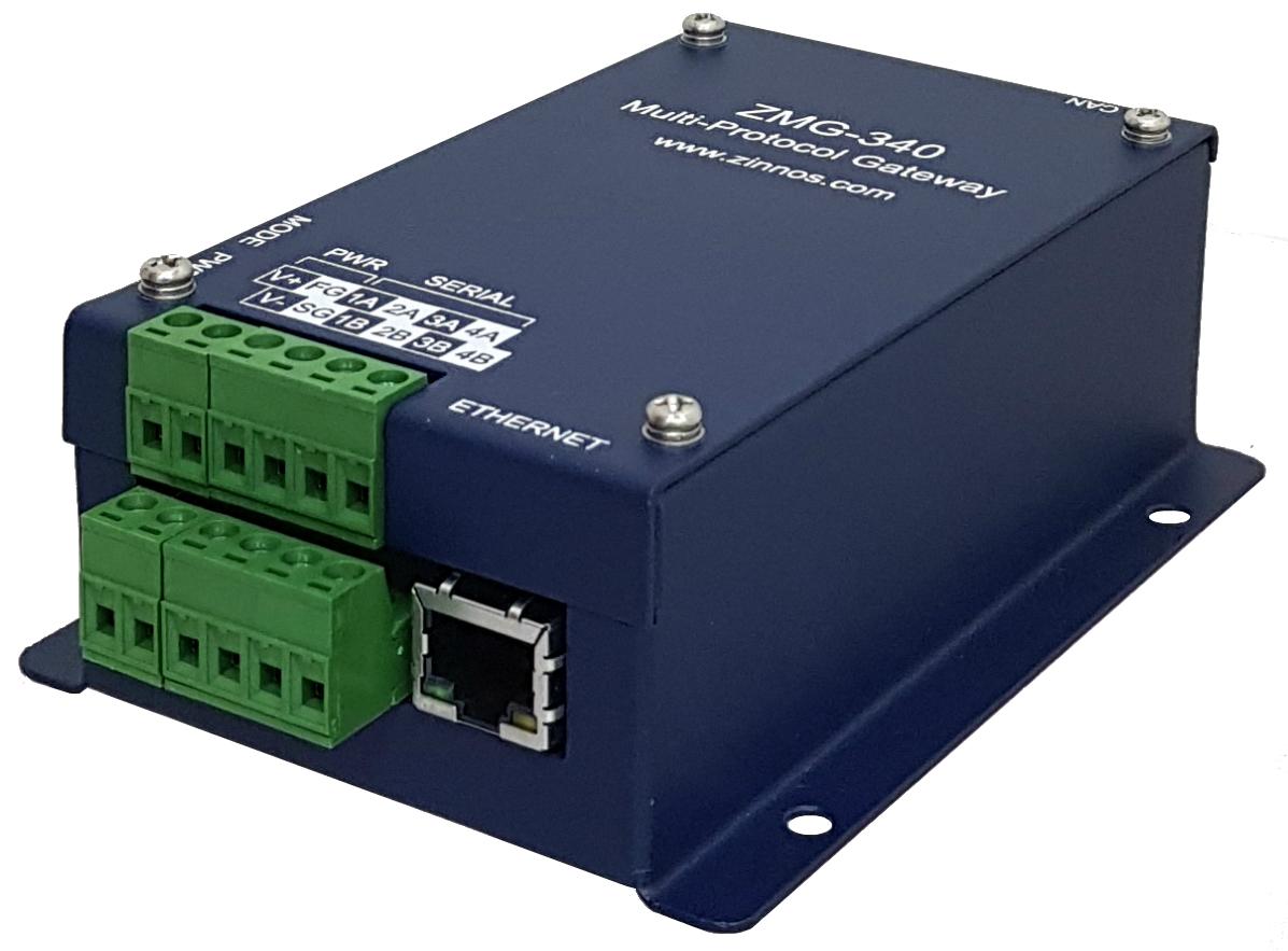 NMEA Ethernet Gateway/Multiplexer, IEC 61162-450, NMEA 0183 - Zinnos